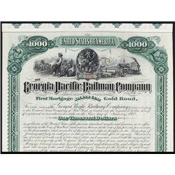 Georgia Pacific Railway Co. Bond.