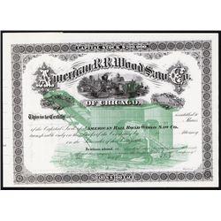American R. R. Wood Saw Co.