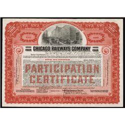 Chicago Railways Co. Shares.