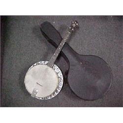 """Little Wonder"" banjo with resonator, rock"
