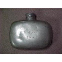 Pewter Confederate Civil War Officer's