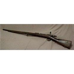 French Darmes Manuf. bolt action rifle, mod
