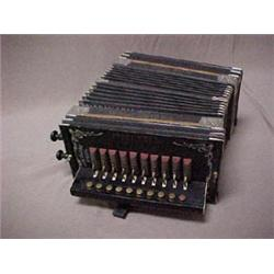 The Globe Special accordion with steel reed