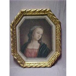 Gilt framed limited edition Madonna