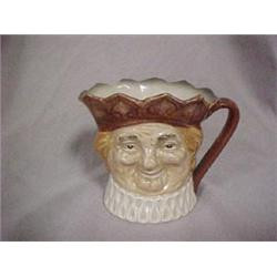 """SMALL CHARACTER JUG """"OLD KING COLE"""", 3 1/2"""""""