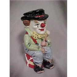 """TOBY JUG """"THE CLOWN"""",MODELED BY STANLEY J.T"""