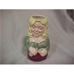 """SMALL TOBY JUG,""""BETTY BITTERS"""" THE BARMAID,"""