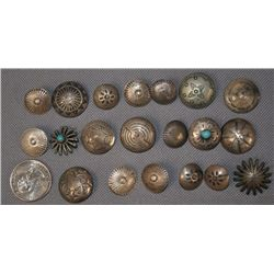 COLLECTION OF NAVAJO BUTTONS