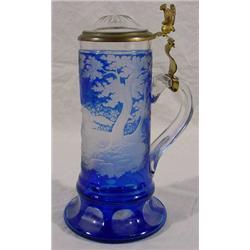 Cased Glass Stein