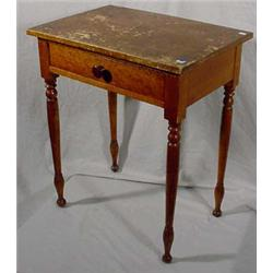 Tiger Maple Stand, Ca. 1850