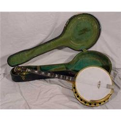 Supertone Orchestra King 4-String Banjo