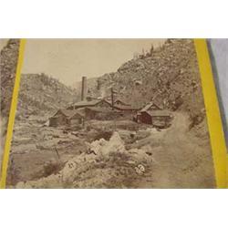 3 Stereo Views - Colorado Mining, 19th C.