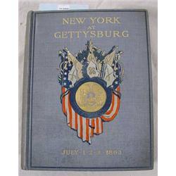 "3 Vol Set ""New York At Gettysburg"" by William F. Fox, 1900"