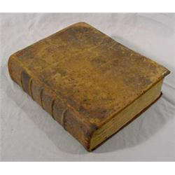 Holy Bible, Cooperstown, NY, 1832