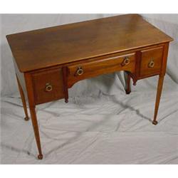 """""""Stickley"""" Black Cherry Desk/Vanity"""