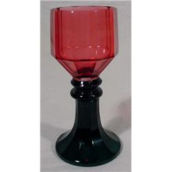 Art Glass Goblet