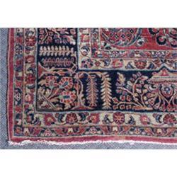 Ca. 1925 Sarouk Oriental Carpet