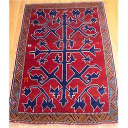 Unusual Persian Area Rug