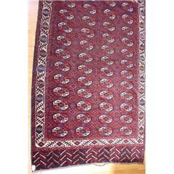 Ca. 1925 Bokara Persian Rug