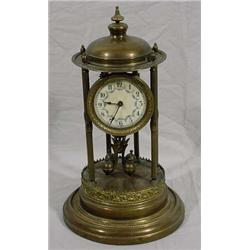 """Transatlantic Clock Co. New York & Germany"" Anniversary Clock"