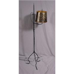 Adjustable Wrought Iron Floor Lamp