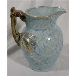 Roseville (Unmarked) Colonial Pattern Pitcher, Ca. 1895