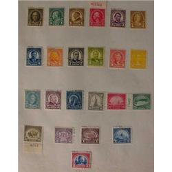 23 U.S. Postage Stamps