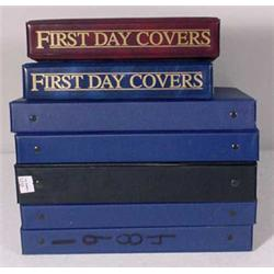 Group of 1980's First Day Covers & 10 Albums