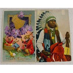 1,600 Assorted Postcards, Ca. 1900-1960's
