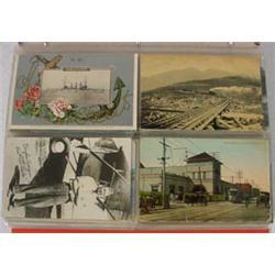 100 Postcards & 125 Letters, Ca. 1920-1950's