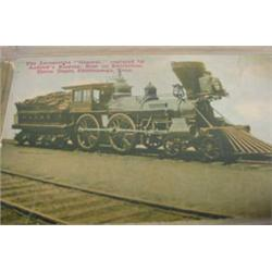 150 Transportation & Patriotic Postcards, Pre-1920