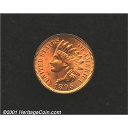 1895 1C MS64 Red Questionable Color, Uncertified.