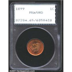 1899 1C MS65 Red PCGS.