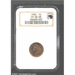 1903 1C PR65 Red and Brown NGC.