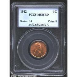 1912 1C MS65 Red PCGS.
