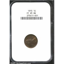 1915 1C PR65 Brown NGC.