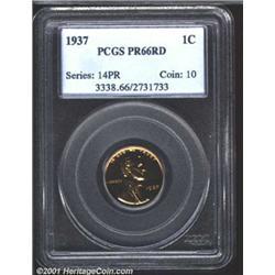 1937 1C PR66 Red PCGS.