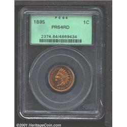 1895 1C PR64 Red PCGS.