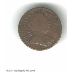1788 COPPER Vermont Copper, Bust Right VG8 Corroded Uncertified.