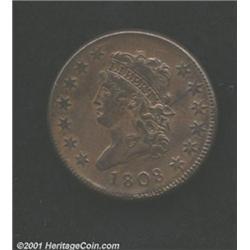 1808 1C MS62 Brown Uncertified.