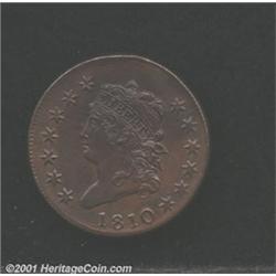 1810 1C MS60 Brown, Cleaned Uncertified.