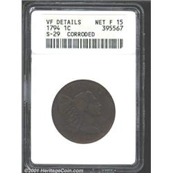 1794 1C Head of 1794--Corroded--ANACS.