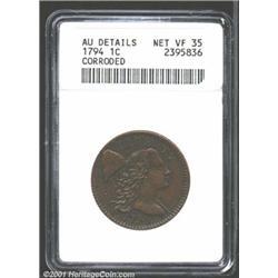 1794 1C Head of 1795--Corroded--ANACS.