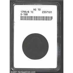 1799/8 1C VG10 ANACS.