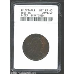 1801 1C 1/000--Scratched--ANACS.