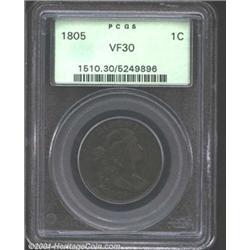 1805 1C VF30 PCGS.