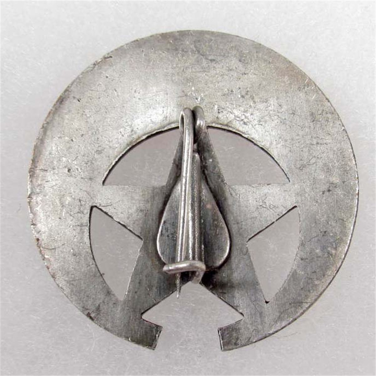 OLD WEST COCHISE COUNTY SHERIFF LAW BADGE - NICKEL CONSTRUCTION