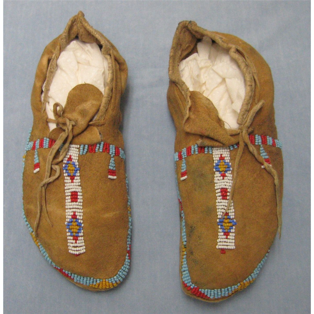 b596e29e3 Beaded moccasins, Plains Indian Est. $300-600. Loading zoom