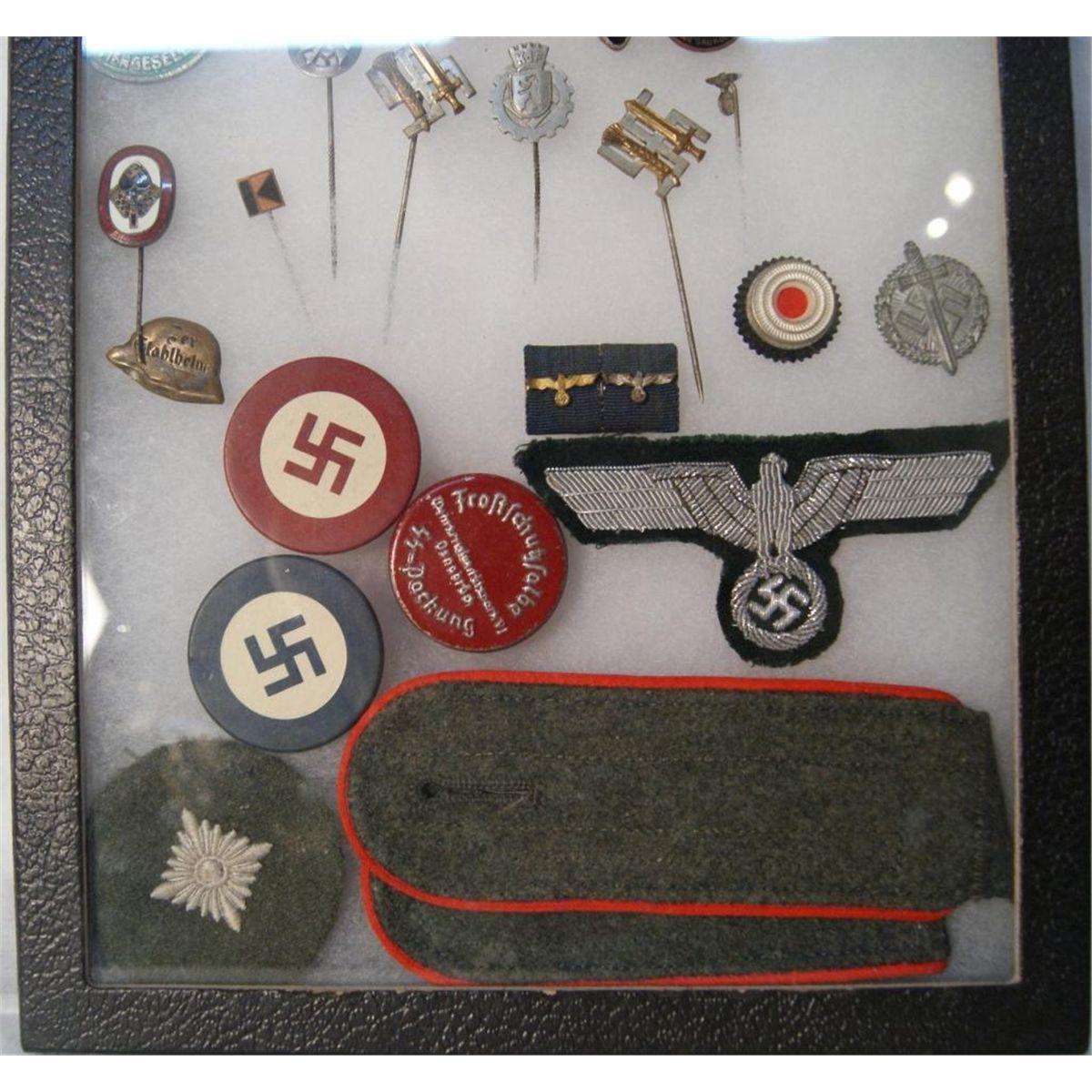Cased Collection of Rare German WWII memorabilia