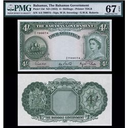 Bahamas Government 1953 Issue.